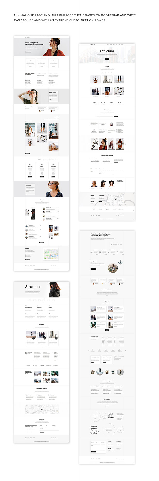Structura – One Page And Multipurpose Theme (Creative)