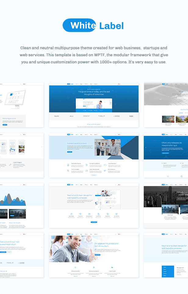 White Label - Business And Company Theme - 3