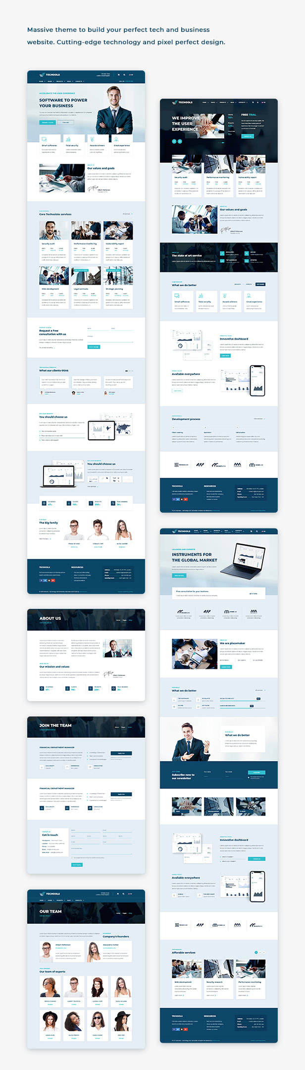 Execoore - Technology And Fintech Theme - 1