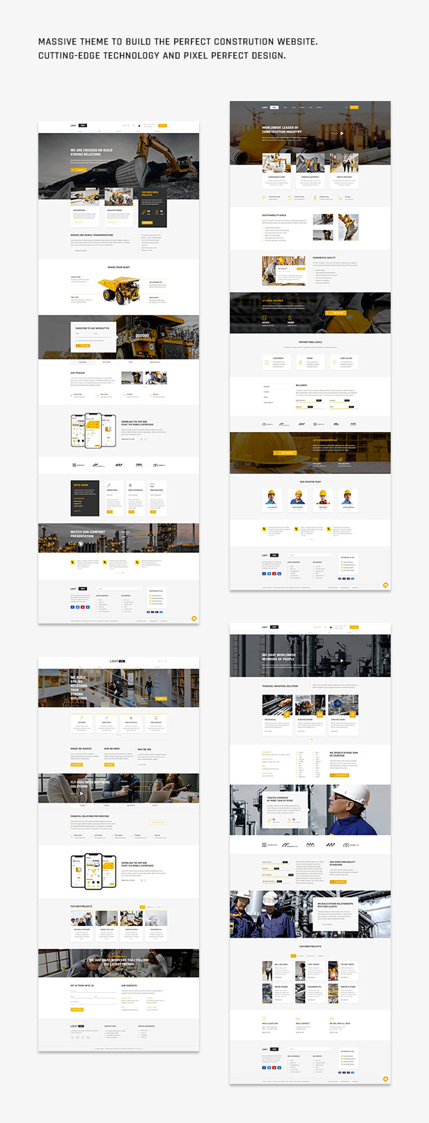 Lightwire - Construction and Industry | The Construction Theme - 1